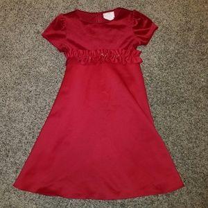 Girls Red Formal Dress